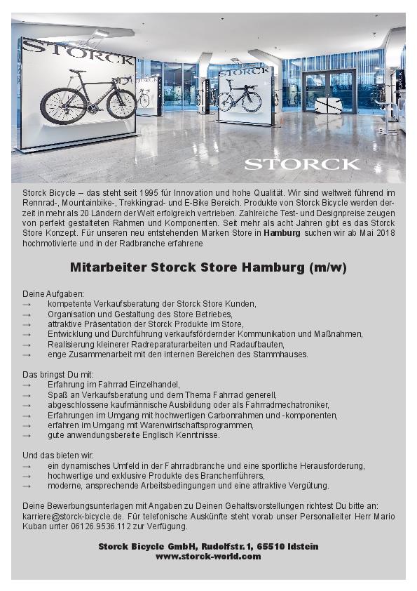 Mitarbeiter Storck Store Hamburg (m/w)
